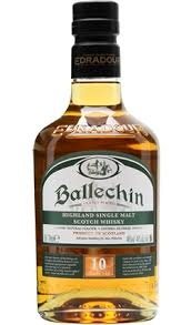 Ballechin 10 Year Highland Single Malt Scotch Whisky 750ml