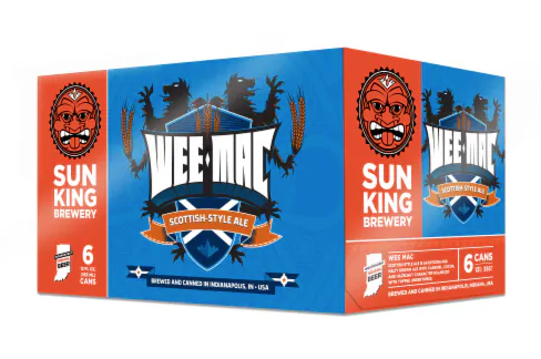 "Sun King ""Wee-Mac"" Scottish-Style Ale 12oz 6pack"