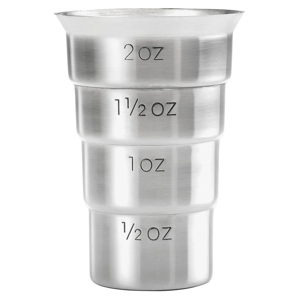 Stepped Jigger (No  Handle) Stainless Steel