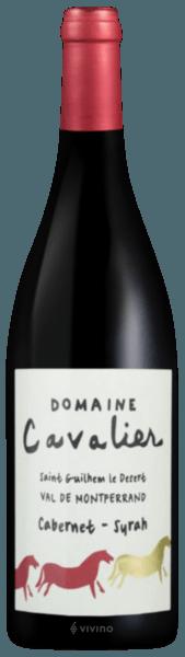 Domaine Cavalier Cabernet-Syrah Rouge Val de Montferrand Saint Guilhem le Desert 2019 750ml