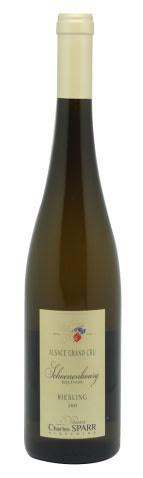 """Charles Sparr """"Schoenenbourg"""" Grand Cru Riesling Asace 2011 750ml"""