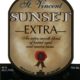 St. Vincent Sunset Extra Gold Rum 750ml