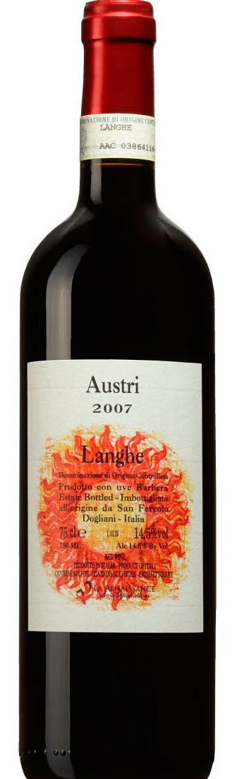 "San Fereolo Lamghe ""Austri"" Barbera 2010 750ml"