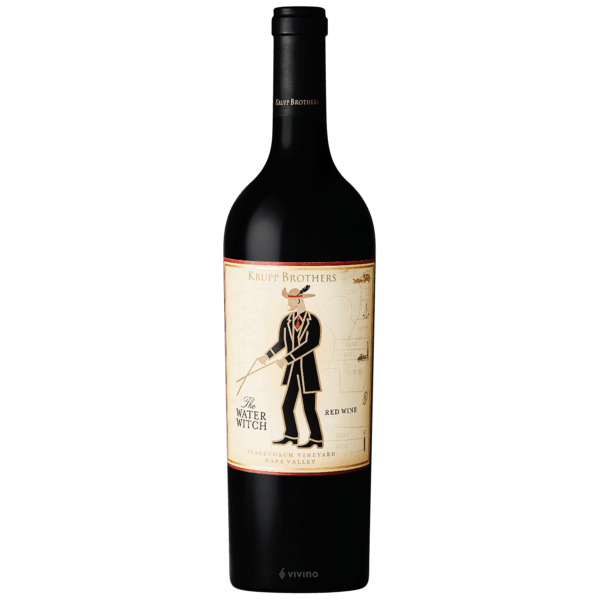 """Krupp Brothers """"The Water Witch"""" Stagecoach Vineyard Napa Valley Red Wine 2016 750ml"""