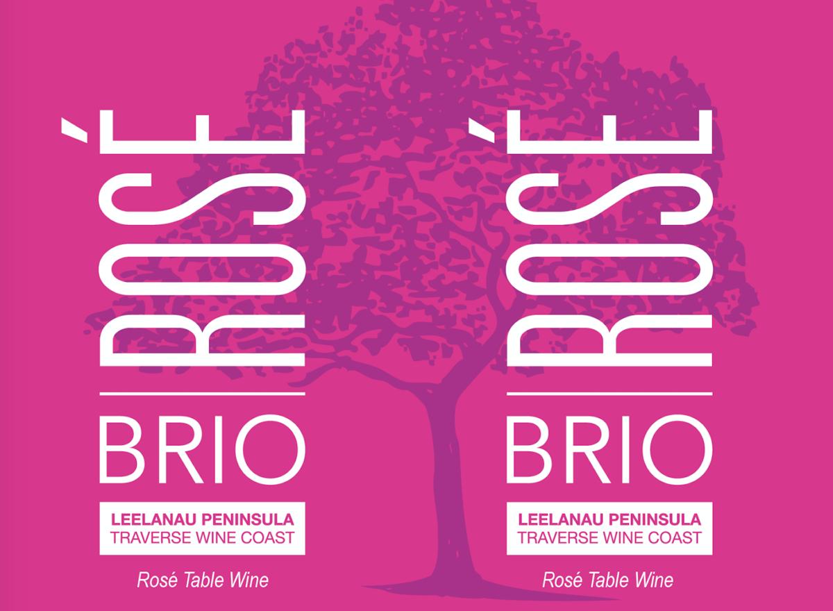 "Shady Lane ""Brio"" Rose Table Wine Leelanau Penninsula 375ml Can"