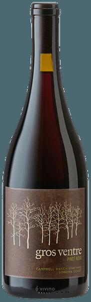 Gros Ventre Pinot Noir Campbell Ranch Vineyard Sonoma Coast 2016 750ml