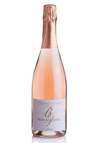 Burckel Jung Cremant d'Alsace Brut Rose NV 750ml