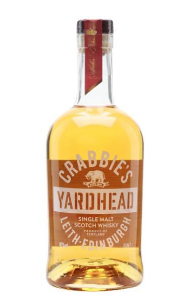 Crabbie's Yardhead Single Malt Scotch Whisky 750ml