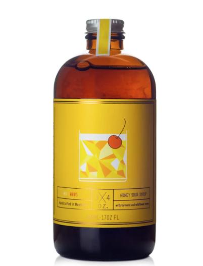 3/4OZ. Honey Sour Syrup 17oz