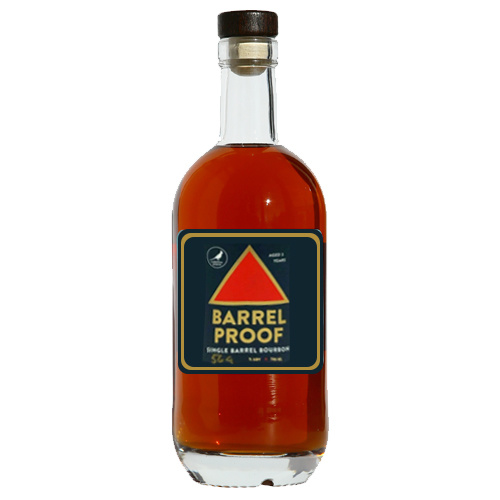 "Cardinal Spirits ""Barrel Proof"" Single Barrel Bourbon 750ml"