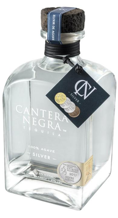 Cantera Negra Tequila Silver 750ml