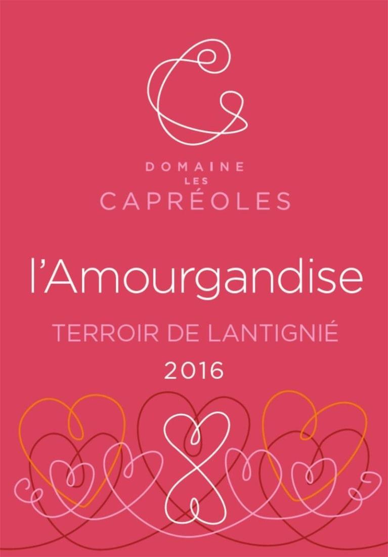 """Domaine des Capreoles Beaujolais Terroir de Lantignie """"L'Amourgandise"""" 2020 750ml"""