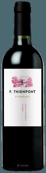 F. Thienpont Bordeaux 2016 750ml