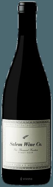 Salem Wine Co. Pinot Noir Eola-Amity 2018 750ml