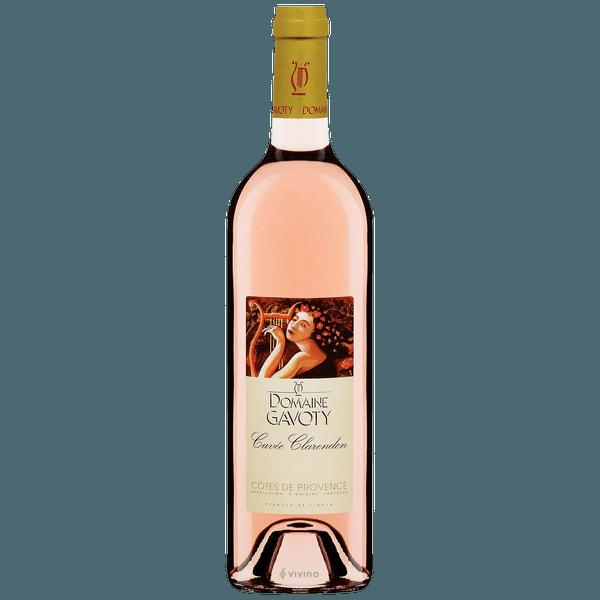 Domaine Gavoty Cuvee Clarendon Cotes de Provence Rose 2018 750ml
