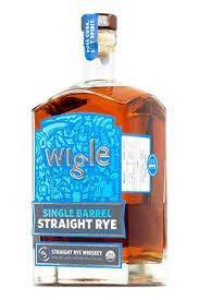 Wigle Single Barrel Straight Rye 750ml