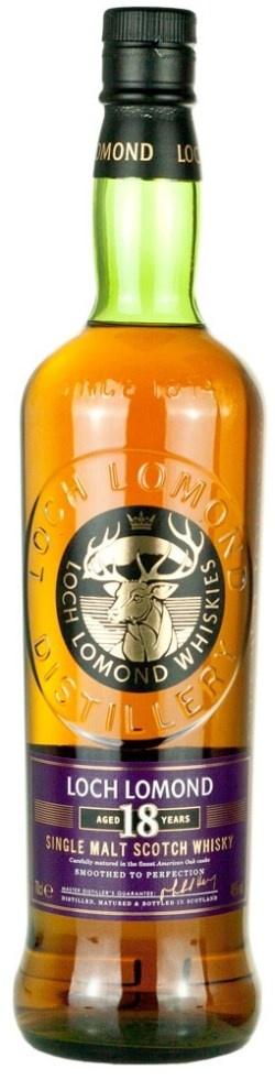 Loch Lomond 18 Year Single Malt Scotch Whisky 750ml