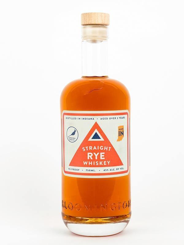 Cardinal Straight Rye Whiskey 750ml