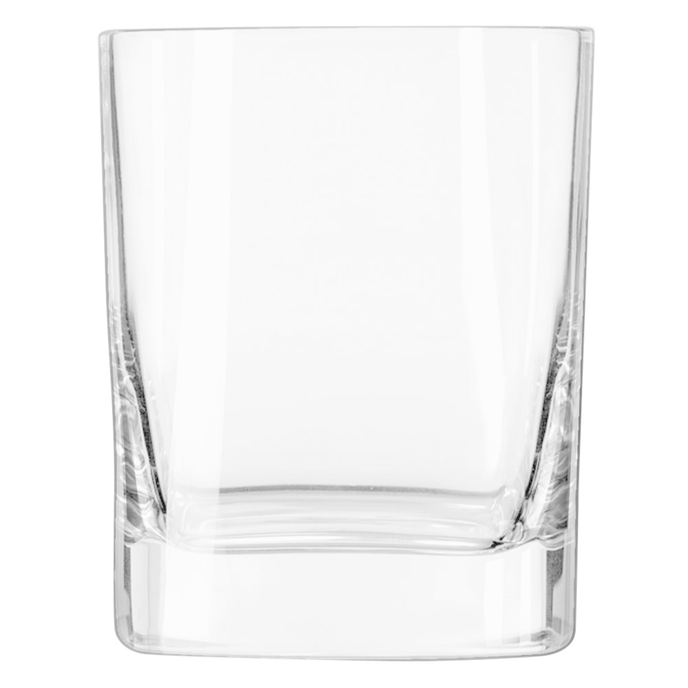 "Luigi Bormioli ""Strauss"" Square Double Old Fashioned Glass 11.75oz"
