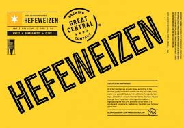 Great Central Hefeweizen 16oz 4pk