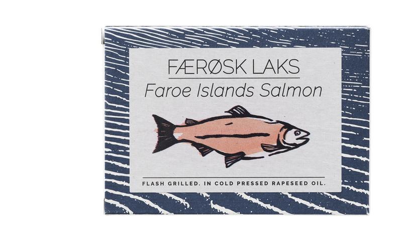 Fangst Faroe Island Flash Grilled Salmon 110g