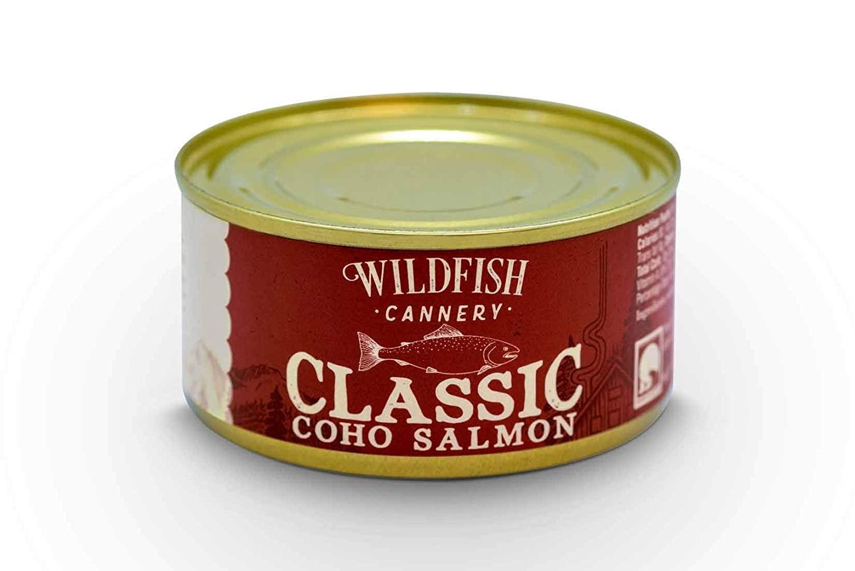 Wildfish Cannery Classic Coho Salmon 6oz