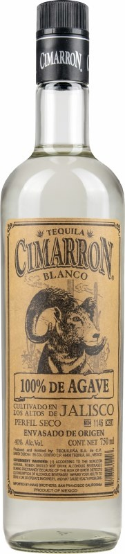 Cimarron Blanco Tequila 750ml