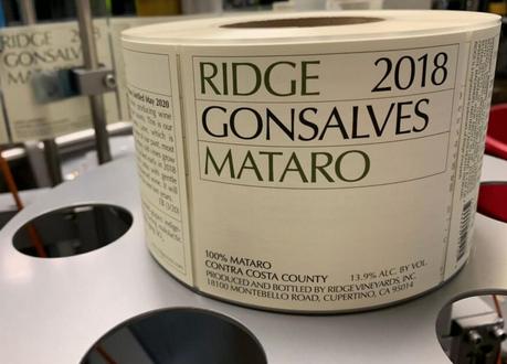 Ridge Gonsalves Mataro 2018 750ml