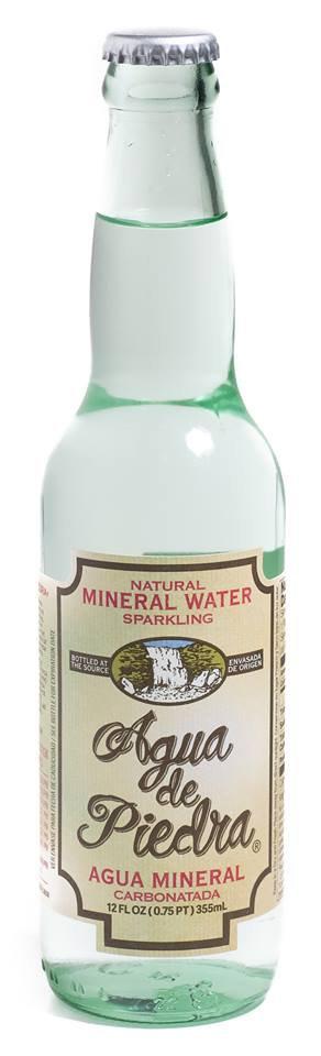 Agua de Piedra Sparkling Mineral Water 12oz