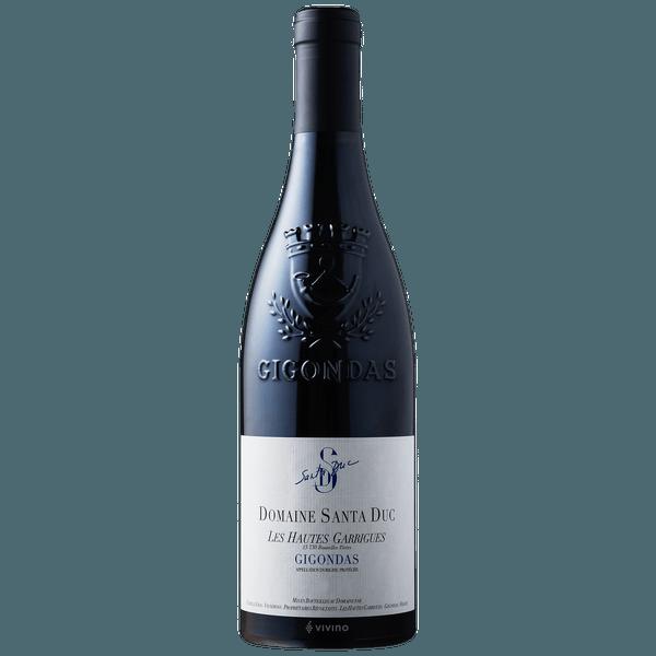 "Domaine Santa Duc ""Les Hautes Garrigues"" Gigondas 2015 750ml"