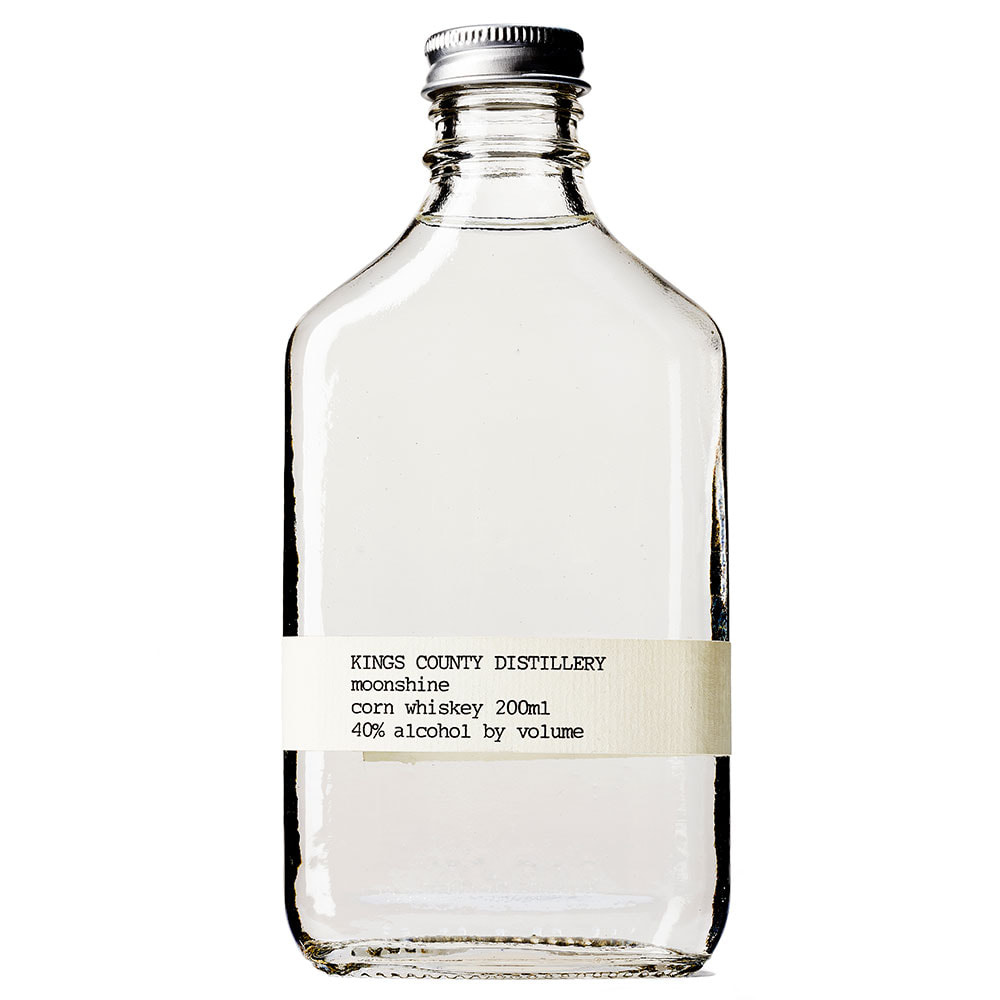 Kings County Distillery Moonshine Corn Whiskey 375ml