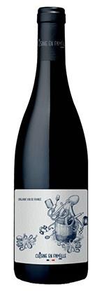 """Cuisine de Famille """"Les bras m'en tombent"""" Vin de France Rouge 2020 750ml"""