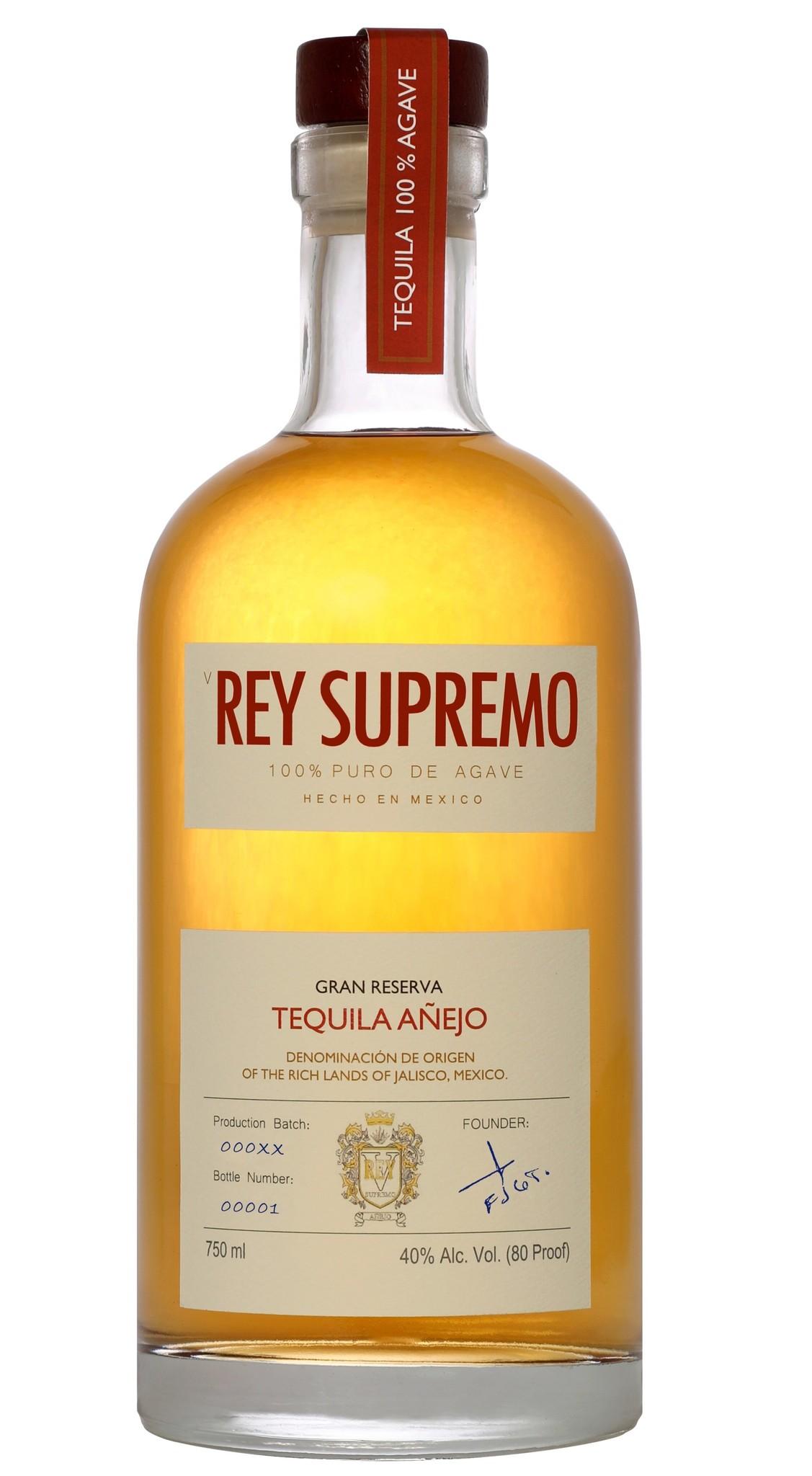 Rey Supremo Tequila Anejo