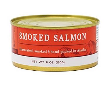 Wildfish Cannery Smoked Coho Salmon 6oz