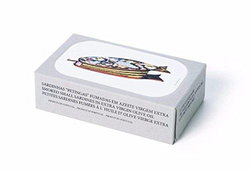 Jose Gourmet Smoked Small Sardines in Extra Virgin Olive Oil 3oz