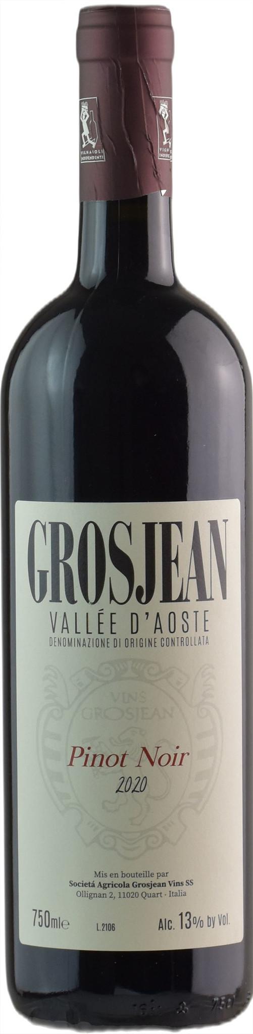 Grosjean Pinot Noir Valee d'Aoste 2018 750ml