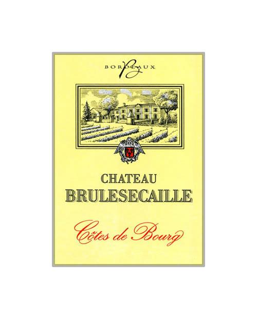 Chateau Brulesecaille Cotes de Bourg Bordeaux 2014 750mL