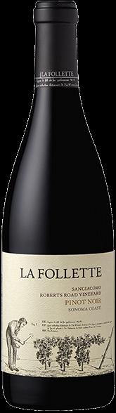 La Follette Sangiacomo Vineyard Pinot Noir 2017 750mL