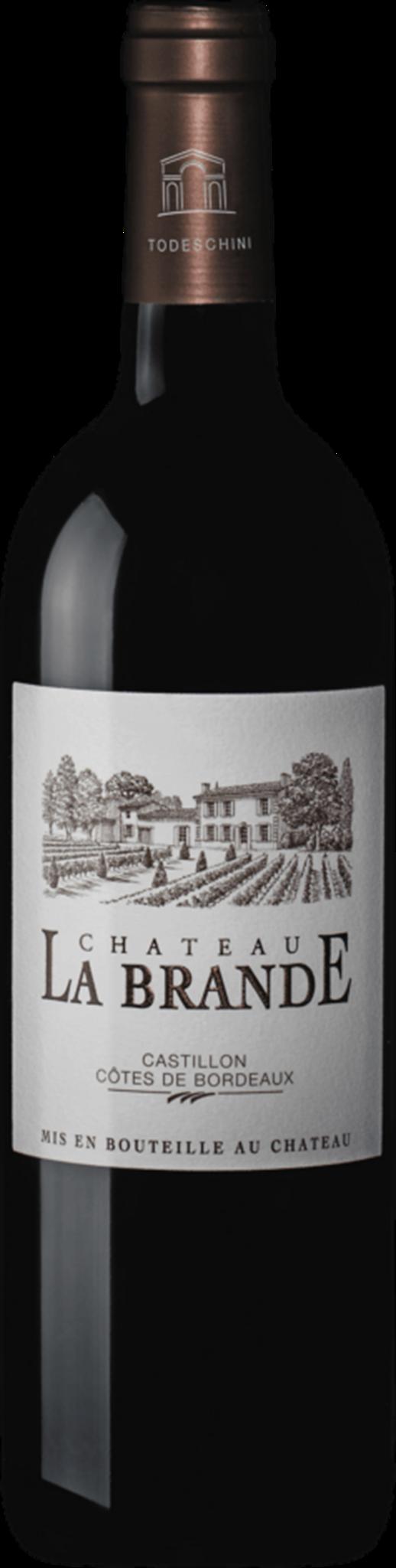 Chateau La Brande Castillon Cotes de Bordeaux 2015 750mL