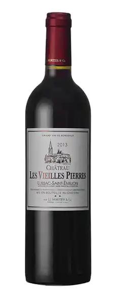 Chateau Les Vieilles Pierres Lussac-Saint-Emilion 2015 750ml