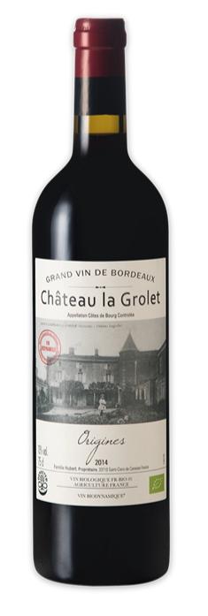Chatea la Grolet Origines Cotes de Bourg 2019 750mL