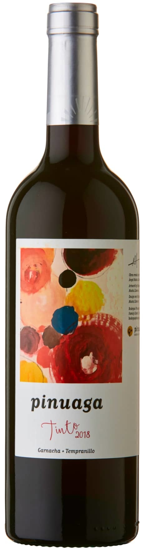 Bodegas Pinuaga Tinto Vino de la Tierra Castilla 2018 750ml