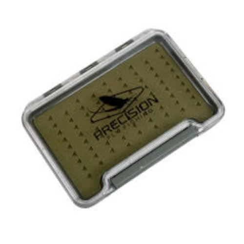Precision Fly Fishing Precision Slim Silicone Fly Box Green