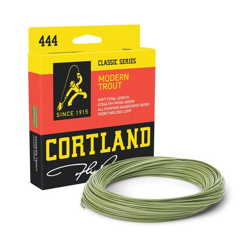 Cortland Line Company Cortland Modern Trout Fly Line Moss Green WF