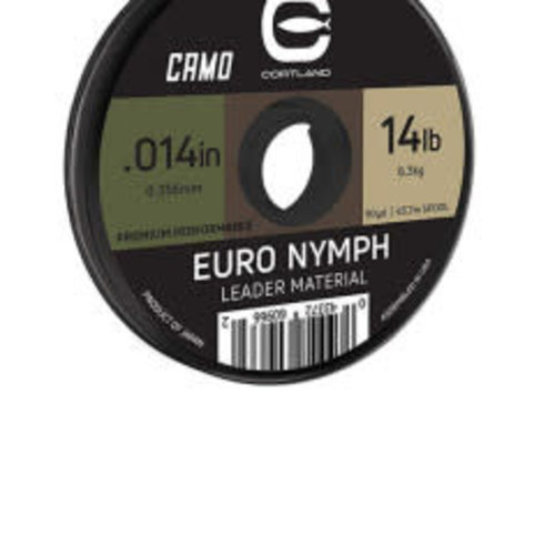 Cortland Line Company Cortland Camo Euro Nymph Leader Material