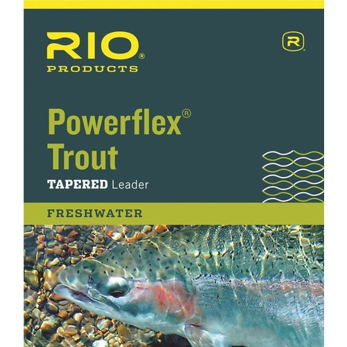 RIO Products RIO Powerflex Trout Leader Single Pack