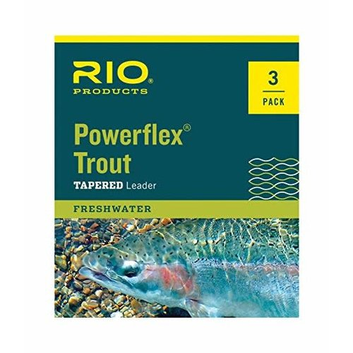 RIO Products RIO Powerflex Trout Leader 3 Pack