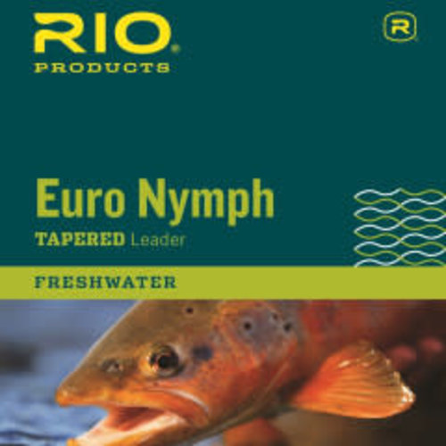 RIO Products RIO Euro Nymph Leader W/ Tippet Ring