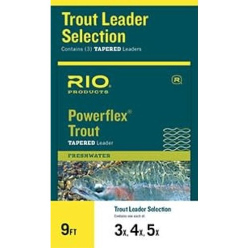 RIO Products RIO Powerflex Trout Leader Selection