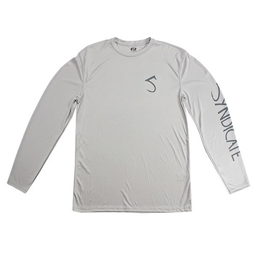 Syndicate Syndicate Dirty Nympher Gray Solar Long Sleeve Shirt